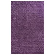 purple accent rugs rizzy home technique purple solid 2 ft x 3 ft accent rug