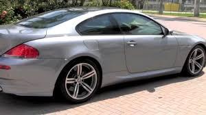 2007 bmw m6 horsepower 2007 bmw m6 silver gray metallic autos of palm a2821
