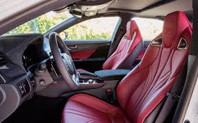 white lexus red interior the 2016 lexus gs f first drive review lexus enthusiast