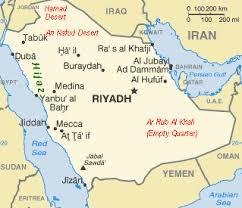 rub al khali map mideast web brief history of saudi arabia