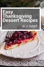 easy thanksgiving dessert recipes merelynne