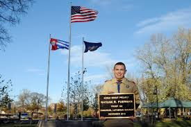 Eagle Scout Flag Eagle Scout Project Culminates In Flag Raising Ceremony This