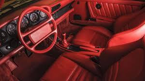 porsche red interior one owner porsche 959 komfort heads to auction autoweek
