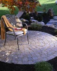 Simple Brick Patio With Circle Paver Kit Patio Designs And Ideas by Spiral Design Paver Patio Block Brick Concrete Pavers Stone