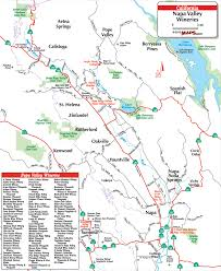 california map napa your resource for local wineries in napa ca
