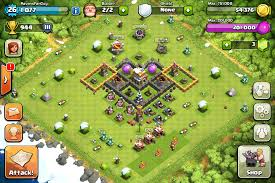 coc village layout level 5 great town hall 5 for those who like clash of clans adding new