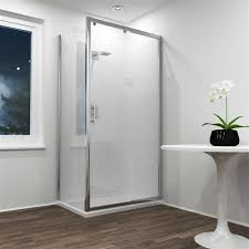 jupiter 1200mm x 700mm sliding shower door with side panel shower