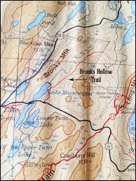 Stars Hollow Map The Quiet Corner Brooks Hollow Road And The Unmarked Trails Of