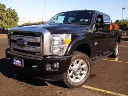 Ford F350 Truck - used 2015 ford f350 crew cab platinum fx4 for sale in eugene
