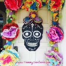 dia de los muertos decorations tammysantana dia de los muertos crafty hop