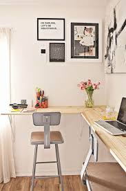 Desk Ideas For Small Rooms Best 20 Wall Mounted Desk Ideas On Pinterest Space Saving Desk