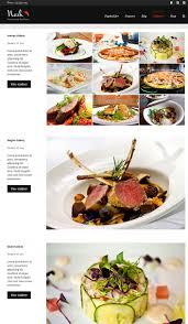 site de recettes cuisine nosh un thème pour site web de recettes de cuisine