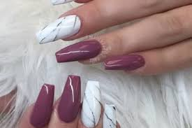 coffin nail designs for long nails to make you stand out