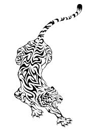 tribal tiger design designs photo shared by adan18
