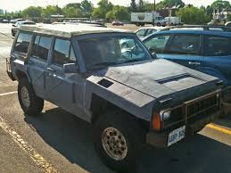 zombie jeep looking for a zombie attack ready cherokee