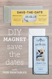 diy save the dates magnet save the date free printable tutorial
