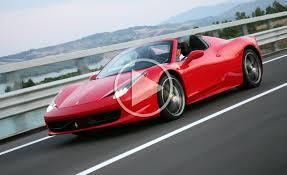 Ferrari 458 Italia Spider - 2012 ferrari 458 spider video ferrari engine notes