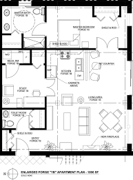Open Plan Kitchen Floor Plan by Architectures Good Architecture Office Apartments Kitchen Home