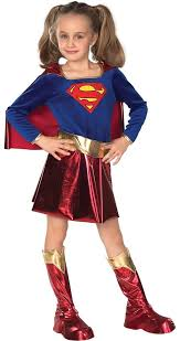 Amazon Halloween Costumes Kids Amazon Dc Super Heroes Child U0027s Supergirl Costume Small Toys