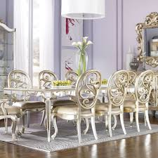 Mirrored Dining Table Bassett Dining Room Sets Creative Design Mirrored Dining Room