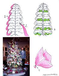 how to decorate a christmas tree with tulle fred gonsowski making