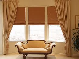 Fabric Blinds For Windows Ideas Bay Window Treatment Ideas Hgtv