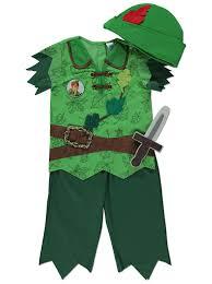 Asda Halloween Cakes Disney Peter Pan Fancy Dress Costume Kids George At Asda