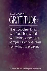 teaching gratitude to both kinds
