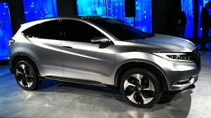 Honda Urban Honda Previews Small Crossover At Detroit Show Fit Based Vehicle