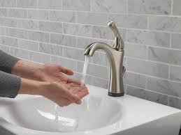 Touch Free Kitchen Faucets by Interior Delta Kitchen Faucets Reviews 9192t Sssd Dst Delta