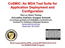 aniruddha gokhale and jeff gray institute for software integrated