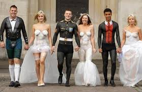 themed weddings top five strangest weddings infobarrel