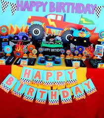 monster truck racing monster truck party monster truck racing candy labels monster