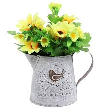 Decorate Flower Vase Amazon Com French Country Vintage Bird Decorative White Shabby