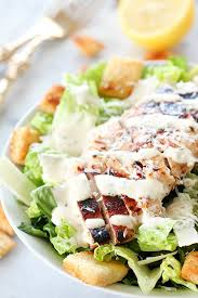 grilled chicken caesar salad yummy healthy easy