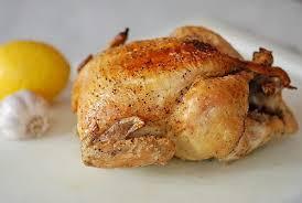roasted whole chicken roasted whole chicken with lemon and garlic recipe cookthink