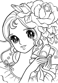 aeromachia flower hair coloring pages wecoloringpage