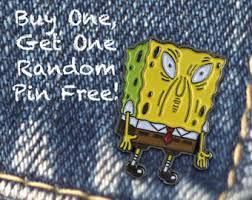 Spongebob Internet Memes - spongebob pin etsy