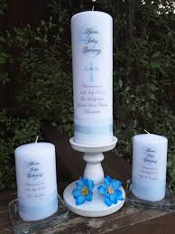 baptism candle lucas baptism candle set special occasion candles