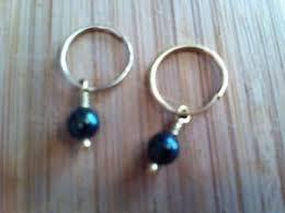 brevard earrings brevard gold with black pearl drop earrings ebay