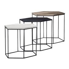 target furniture accent tables meredith 3pk hexagonal accent tables project 62 target