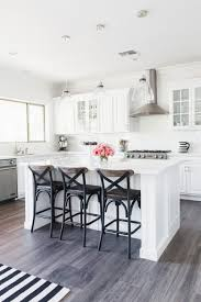Backsplash For White Kitchen by Tomkat Home Tour 2016 White Quartz Countertops White Subway
