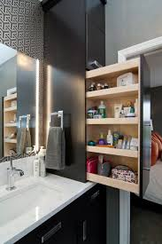 open bathroom storage ideas white vessel shape free standimg