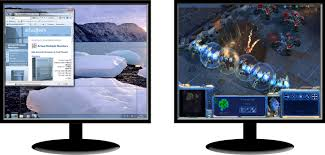 how to play starcraft 2 on dual monitors tips and tricks