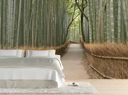 moderne wandgestaltung beispiele moderne wände gestalten mit fototapeten schlafzimmer bamus wald