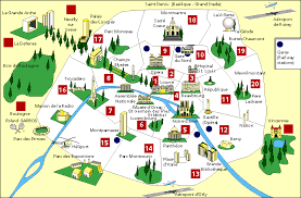map with attractions map of attractions in major tourist attractions maps
