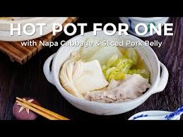 cuisine en pot j how to pot for one midnight diner series recipe 白菜