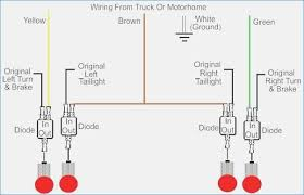 led trailer lights wiring 3 wire led trailer light wiring diagram artechulate info