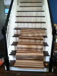 horizontal stair runner