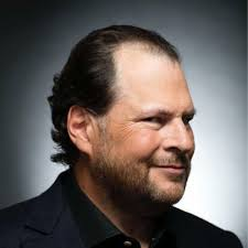 marc benioff on thanksgiving day revenue up 29